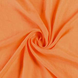 Вискоза жатая оранжевая ш.150 оптом