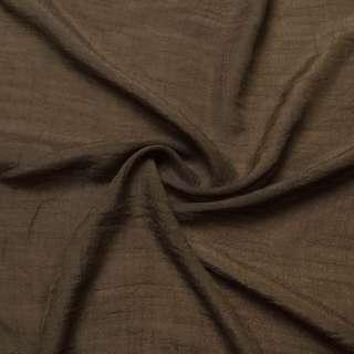 Вискоза жатая коричневая ш.150 оптом