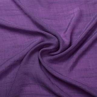 Вискоза жатая светло фиолетовая ш.150 оптом