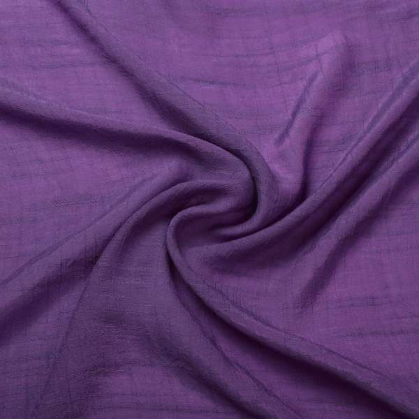 Вискоза жатая светло-фиолетовая ш.150 оптом