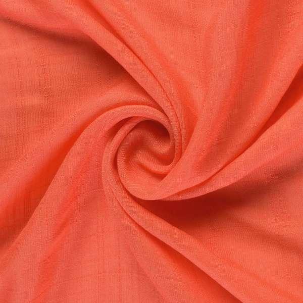 Вискоза жатая морковная ш.146 оптом