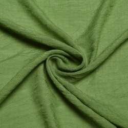 Вискоза жатая зеленая ш.156