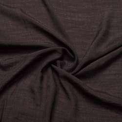 Вискоза жатая темно коричневая ш.150