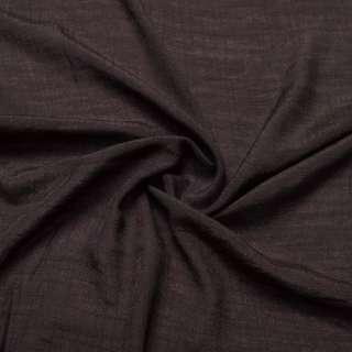 Вискоза жатая темно коричневая ш.150 оптом