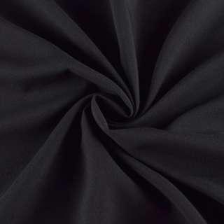 Поливискоза стрейч черная, ш.150 оптом