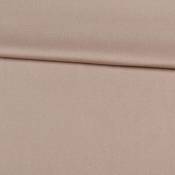 Вискоза костюмная стрейч бежевая, ш.150 оптом