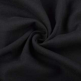 Вискоза стрейч черная ш.145 оптом