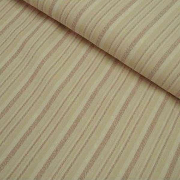 Габардин стрейч песочный в коричневую полоску ш.150 оптом