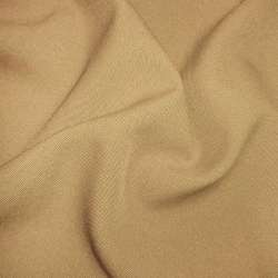 Габардин коричневый светлый ш.150