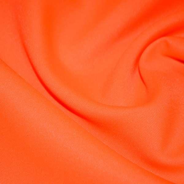 Твил костюмный ярко-оранжевый, ш.150 оптом