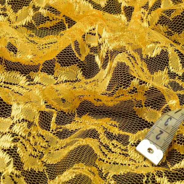 Гипюр желтый, ш.150 оптом