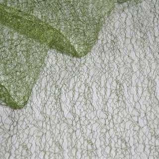 паутинка жесткая темно-зеленая ш.150 оптом