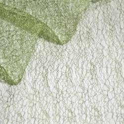 Паутинка жесткая зеленая светлая ш.150 оптом