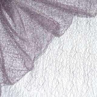 Гипюр-паутинка сиренево-серая ш.150 оптом