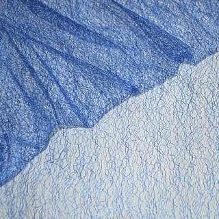 Гипюр-паутинка синий (электрик) ш.150 оптом