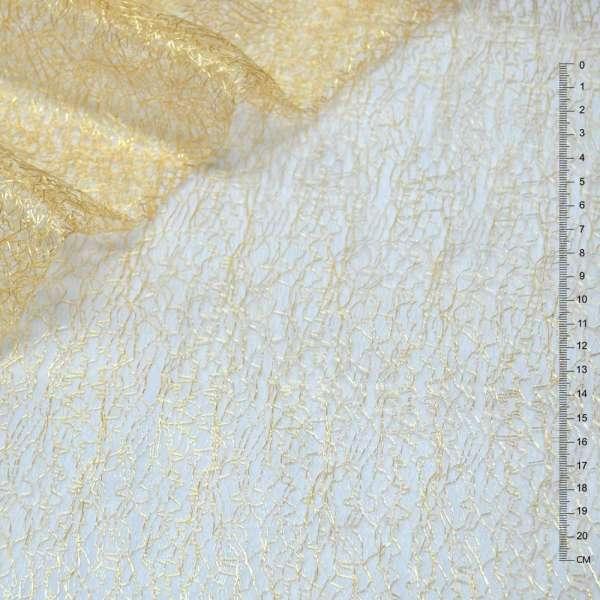Гипюр-паутинка золотисто-рыжая ш.150 оптом