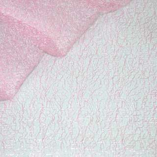 Гипюр-паутинка бледно-розовая ш.150 оптом
