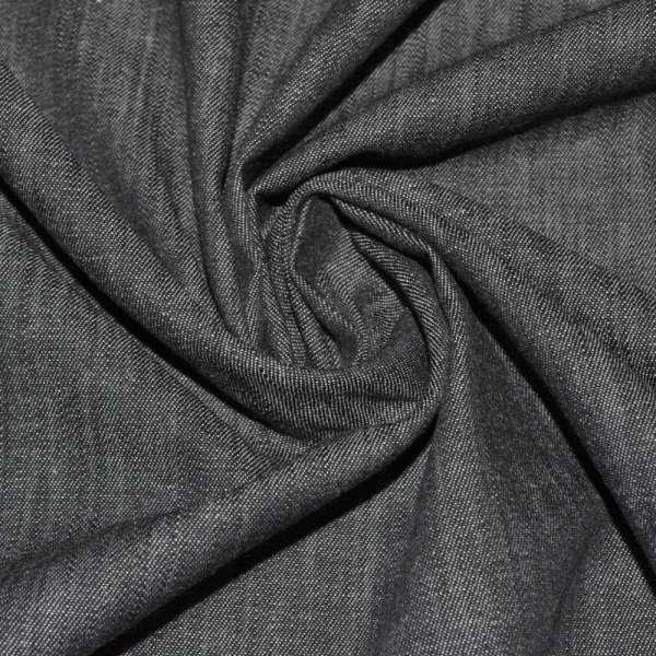 Коттон-джинс серый (асфальт) ш.150 оптом