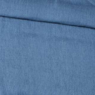 Джинс рубашечный голубой темный, ш.150 оптом