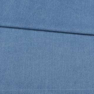 Джинс стрейч голубой в росчерки, ш.145 оптом