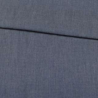 Джинс синий, дублированный флизелином, ш.140 оптом