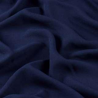 Креп стрейч синий темный ш.150 оптом