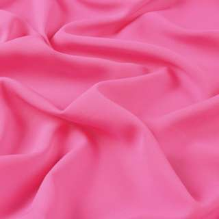 Бистрейч креп плательный розовый яркий, ш.150 оптом