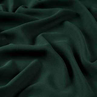 Бистрейч креп плательный зеленый темный, ш.150 оптом