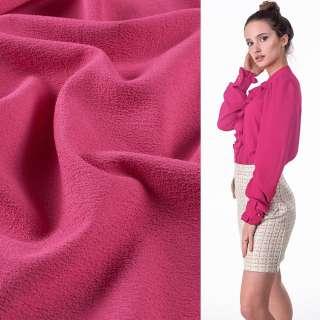 Креп стрейч розовый яркий, ш.150 оптом