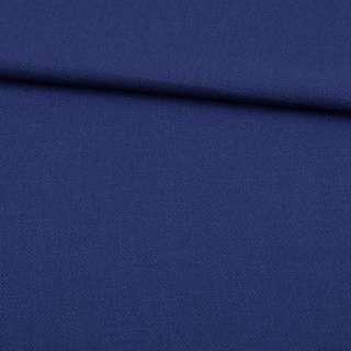 Креп льон стрейч синій, ш.150 оптом