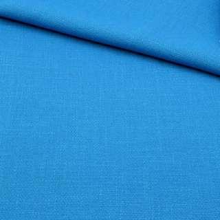 Креп льон стрейч блакитний яскравий, ш.150 оптом