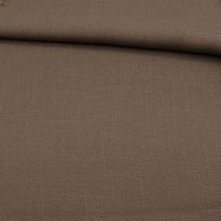 Креп льон стрейч коричневий, ш.150 оптом