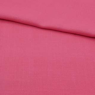 Креп лен стрейч розовый ш.150 оптом