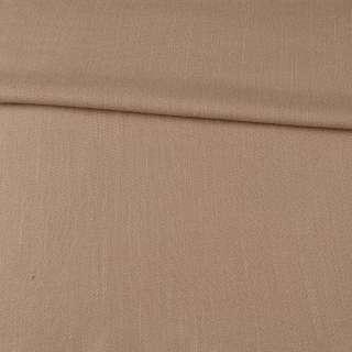 Креп льон стрейч бежевий ш.150 оптом