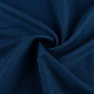 Креп стрейч синій ш.150 оптом