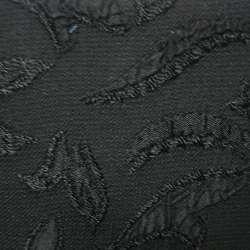 Фукра черная с черным рисунком оптом