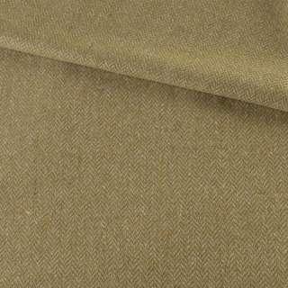 Твид елочка бежевый с цветными вкраплениями, ш.150 оптом