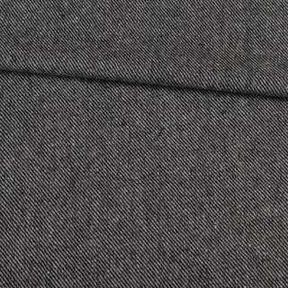 Твид диагональ черно-серый, ш.148 оптом