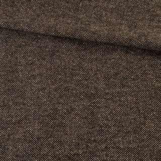 Твид донегал бежево-коричневый, ш.140 оптом