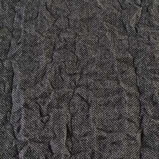 Твид жатый черно-белый, ш.138 оптом