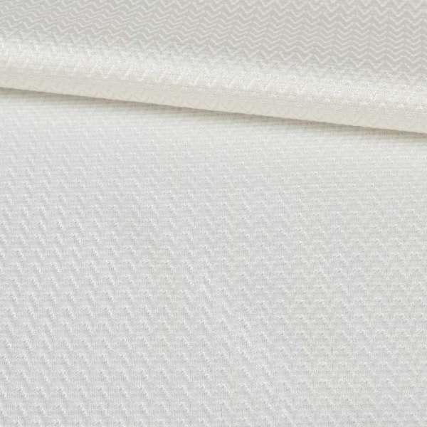 Жаккард белый с блестящей нитью, ш.145 оптом