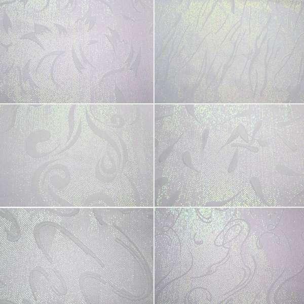 Жаккард костюмный белый с люрексом в завитки ш.145 оптом
