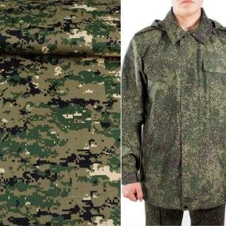 Ткань камуфляжная болотная светлая с зелено-черным ш.150 оптом