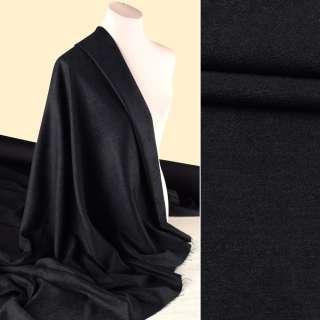 Шеніл костюмний чорний ш.145 оптом