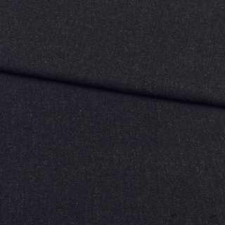 Кашемир костюмный черно-серый диагональ, ш.150 оптом