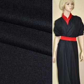ткань костюм. гладкокраш. черная ш.154 оптом