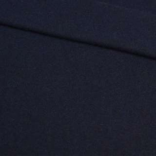 Кашемир синий темный, ш.150 оптом