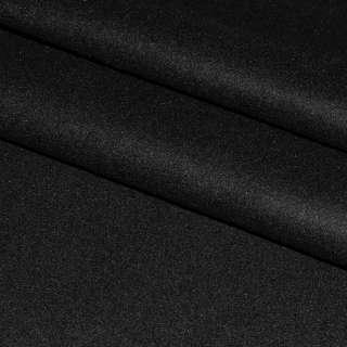Ткань костюмная черная ш.158 оптом