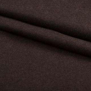Ткань костюмная коричневая ш.150 оптом