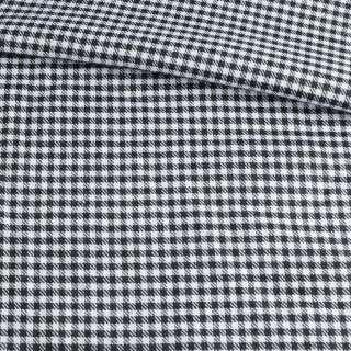 Шотландка черно-белая ш.145 оптом